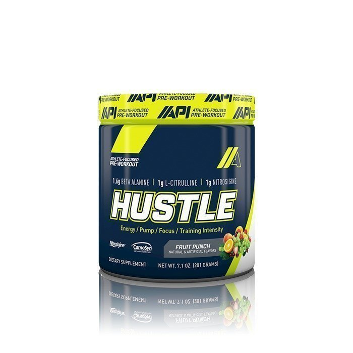 API Hustle 30 servings Fruit Punch
