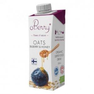 Aberry Oats Bilberry & Honey 250 Ml