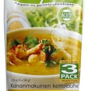 Ackd Easy Diet Kanakeitto 3-Pack