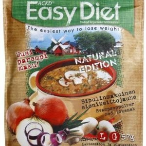 Ackd Easy Diet Natural Edition Sieni-Sipulikeitto