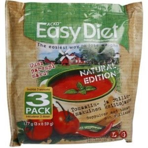 Ackd Easy Diet Natural Edition Tomaatti-Chilikeitto 3-Pack