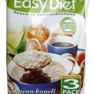 Ackd Easy Diet Omena-Kanelipuuro 3-Pack