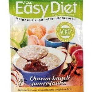 Ackd Easy Diet Omena-Kanelipuuro