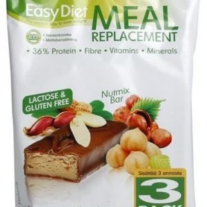 Ackd Easy Diet Patukka Nutmix 3-Pack