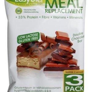 Ackd Easy Diet Patukka Tuplasuklaa 3-Pack
