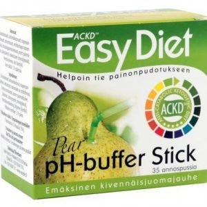 Ackd Easy Diet Ph-Buffer Stick Emäsjauhe Päärynä