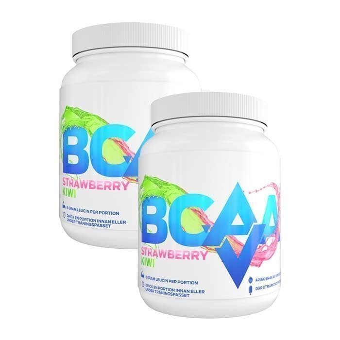 Aldrig Vila 2 x AV BCAA 500 g Strawberry Kiwi