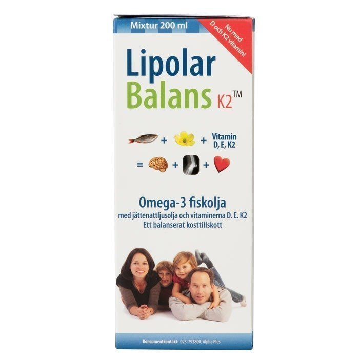 Alpha Plus Lipolar Balans K2 200 ml