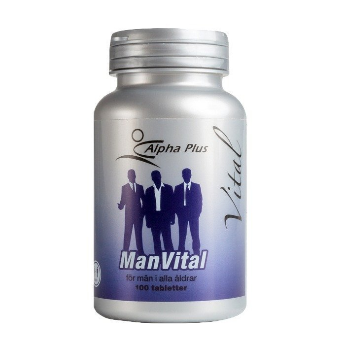 Alpha Plus Man Vital 100 tablettia