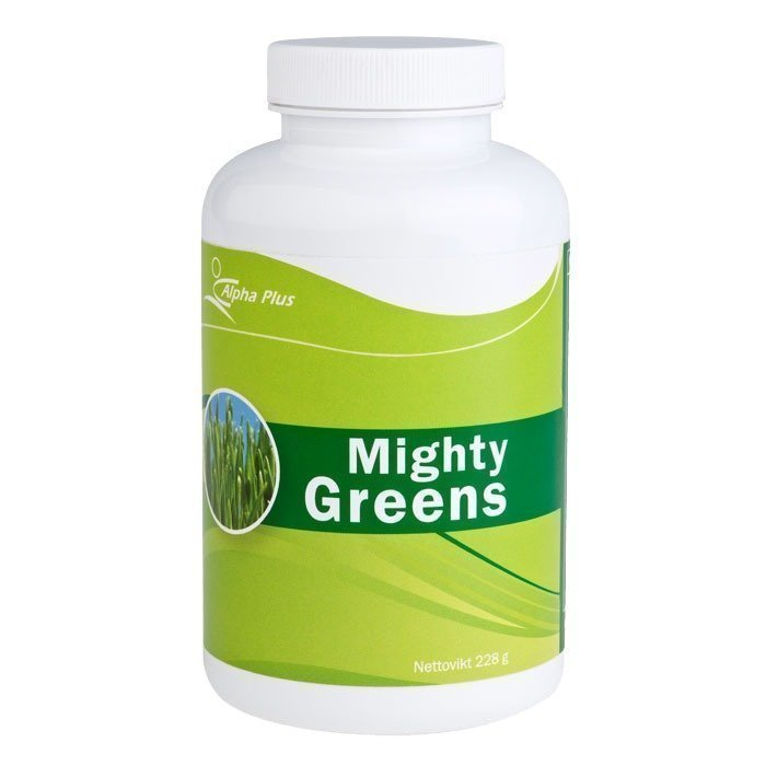 Alpha Plus Mighty Greens 228 grammaa
