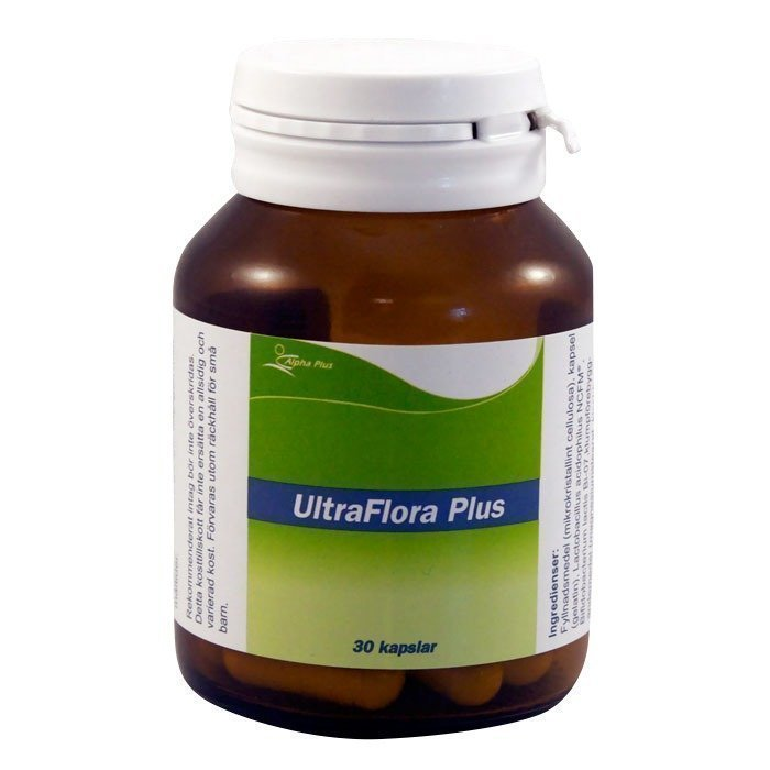 Alpha Plus UltraFlora Plus 30 kapselia