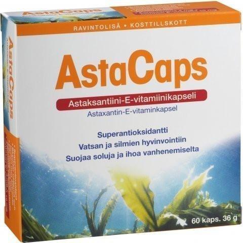 Astacaps Antioksidanttivalmiste