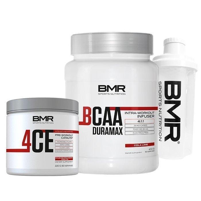 BMR 4CE+BCAA Duramax+BMR White Shaker