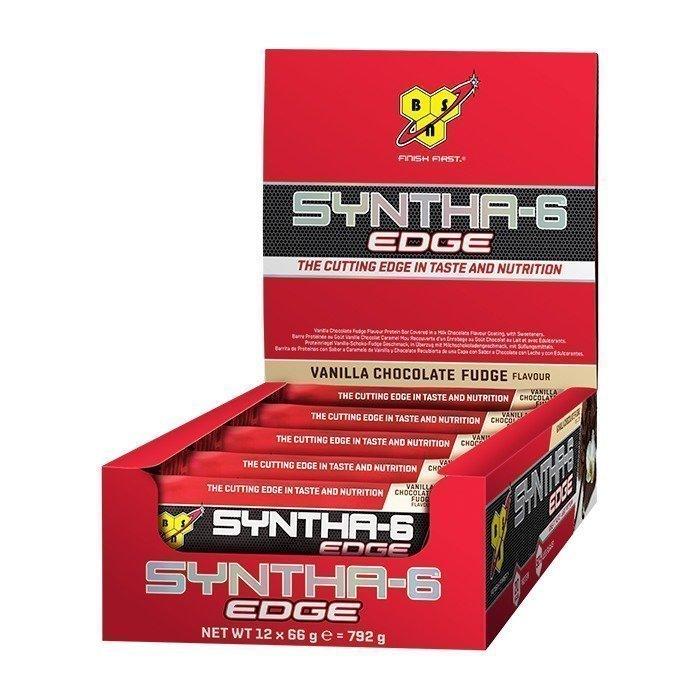 BSN 12 x Syntha-6 Edge bar 66 g