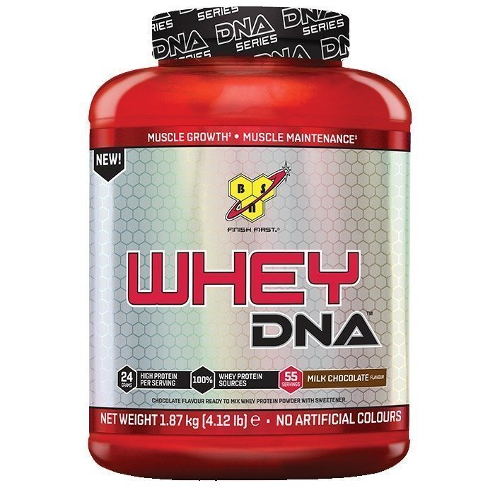 BSN Whey DNA 55 servings Vanilla Cream