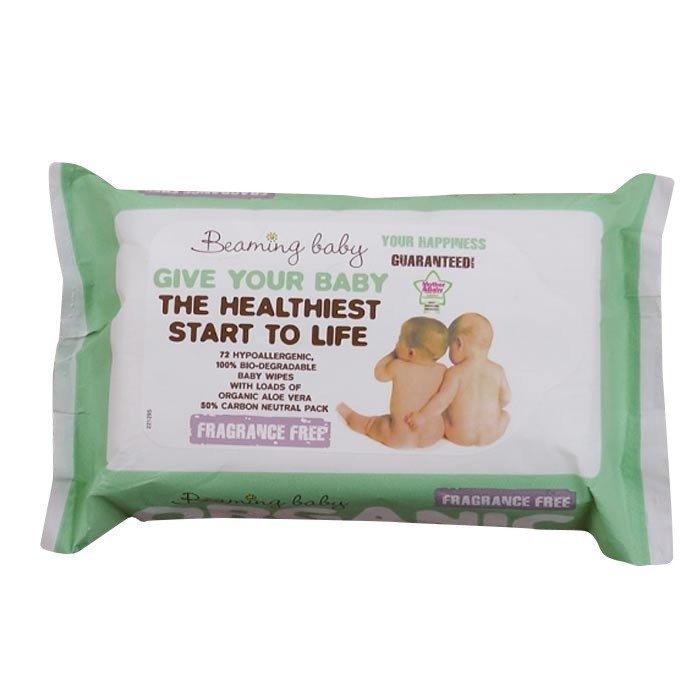 Beaming Baby Vauvojen kosteuspyyhkeet EKO 72 kpl