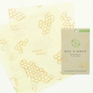 Bees Wrap Mehiläisvahakääre Keskikoinen 3-Pack