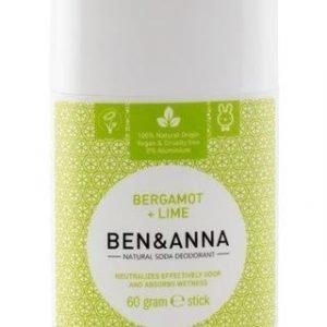 Ben & Anna Deodorantti Stick Bergamot + Lime