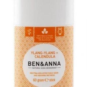 Ben & Anna Deodorantti Stick Ylang-Ylang + Calendula