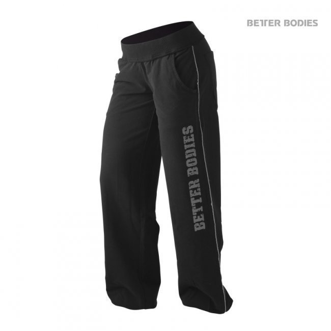 Better Bodies Baggy Soft Pant black