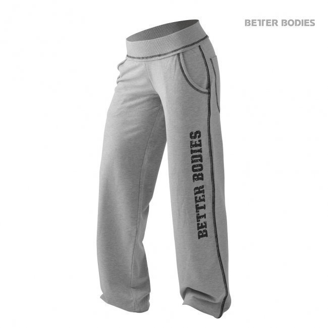 Better Bodies Baggy Soft Pant grey