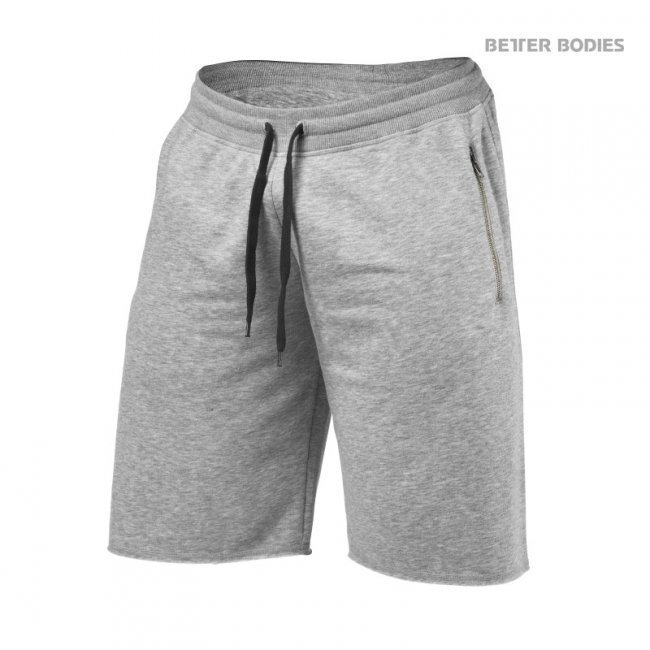 Better Bodies Big Print Sweatshort grey