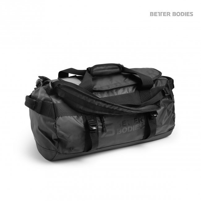 Better Bodies Black BB Duffel Bag