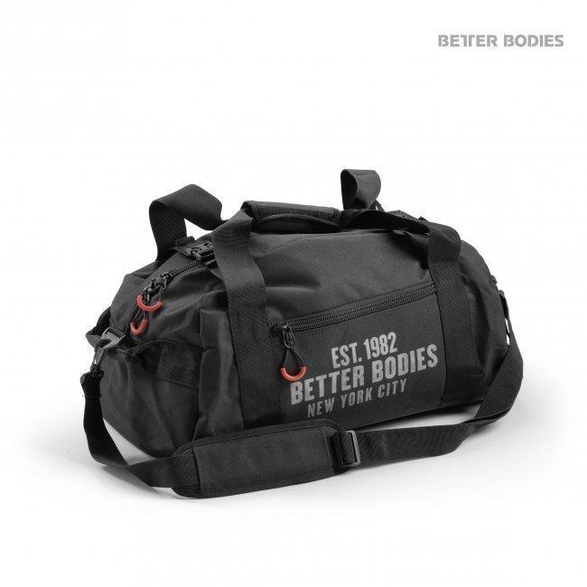 Better Bodies Black BB Gym Bag