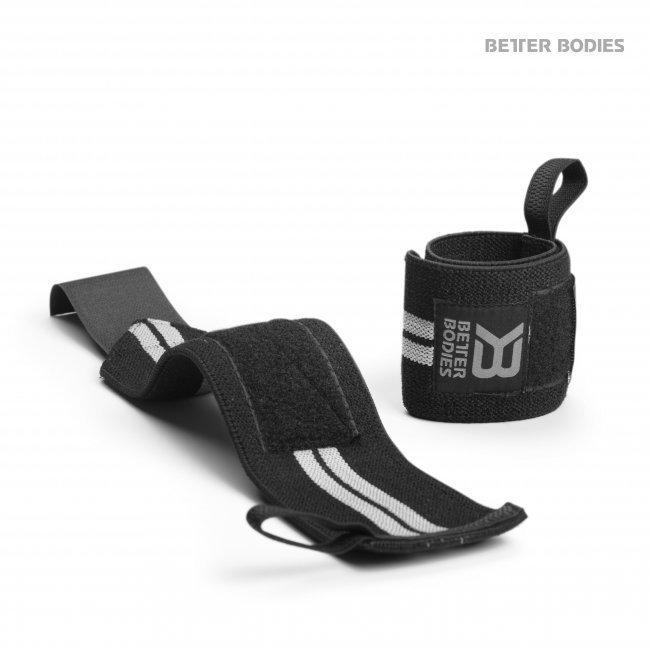 Better Bodies Black Elastic Wrist Wrap