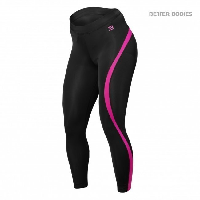 Better Bodies Curve Tights pink