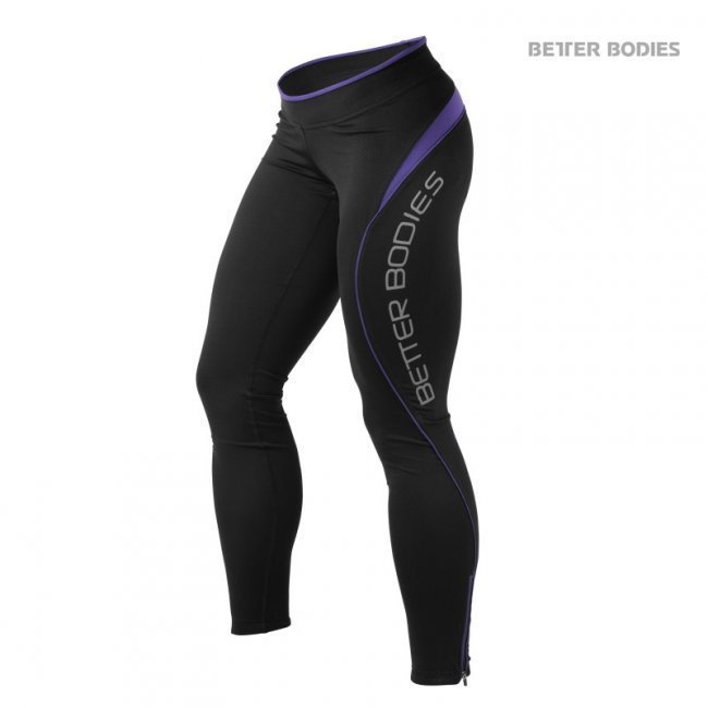 Better Bodies Fitness Tights violetti