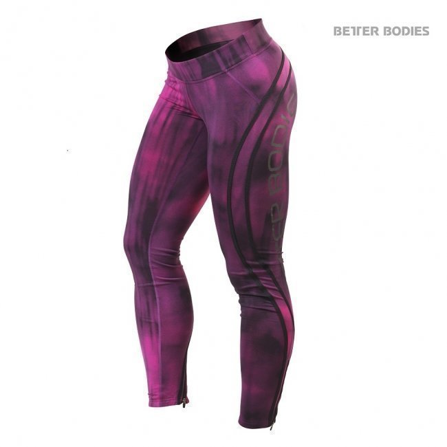 Better Bodies Grunge Tights Hot-pink
