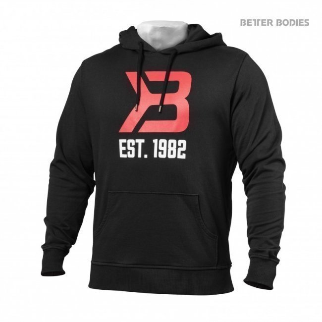 Better Bodies Gym Hoodie black