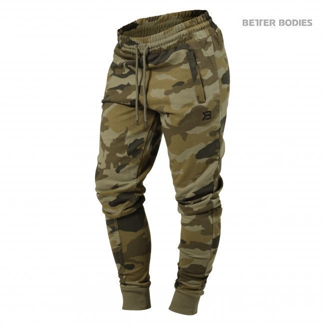 Better Bodies Jogger Sweat Pants green camo