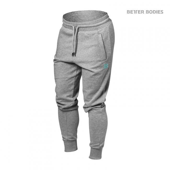 Better Bodies Jogger Sweat Pants greymelagne