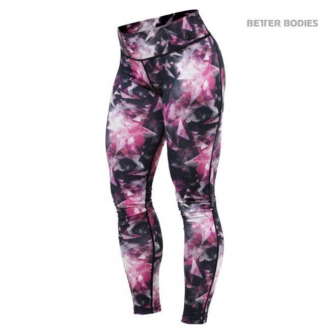 Better Bodies Pink Crystal Tights