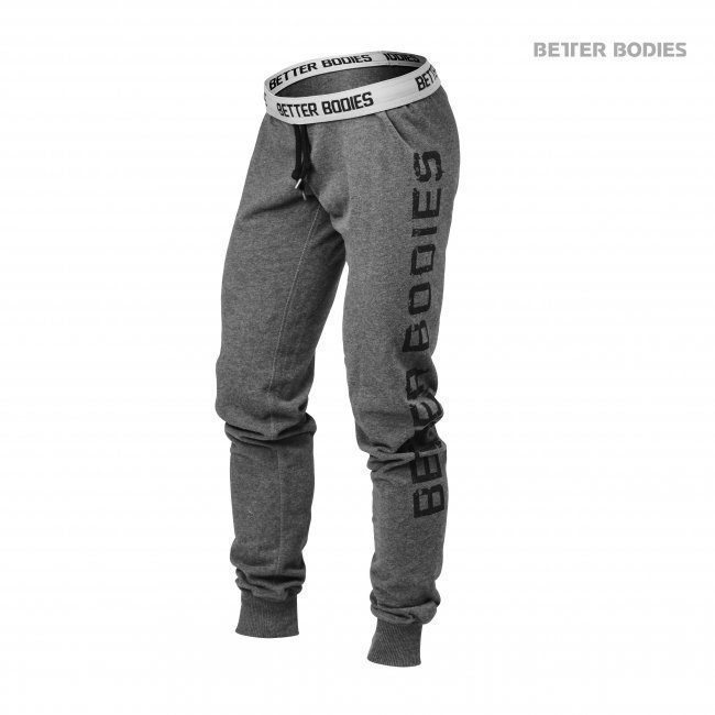 Better Bodies Slim Sweatpants antracite