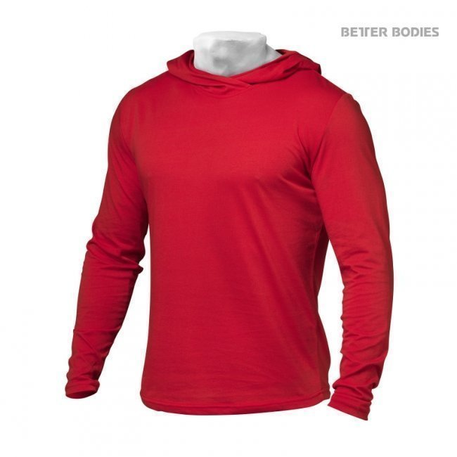 Better Bodies Soft Hoodie punainen