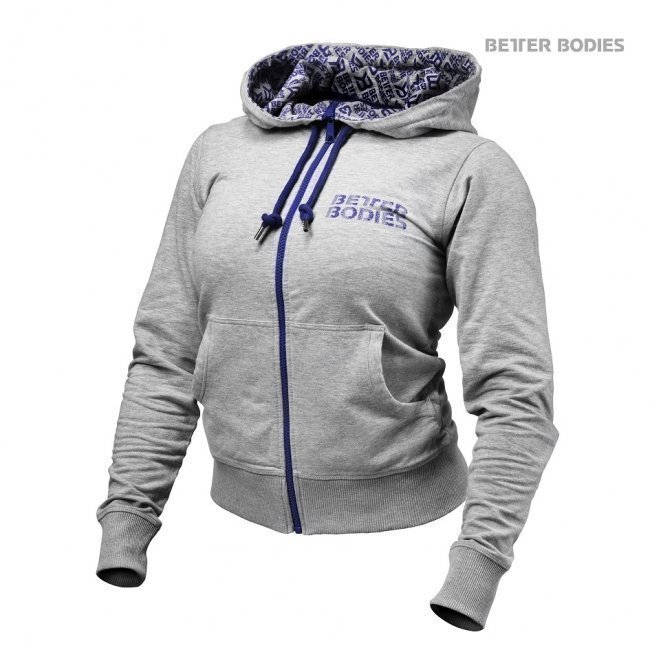 Better Bodies Soft Logo Hoodie grey