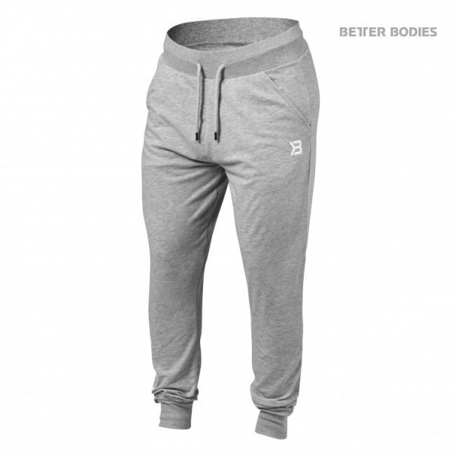 Better Bodies Soft Tapered Pants grey
