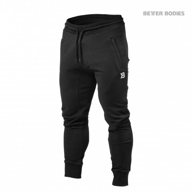 Better Bodies Tapered Jogger musta