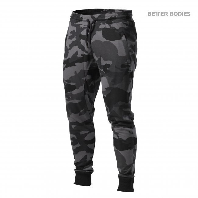 Better Bodies Tapered Joggers Dark Camo