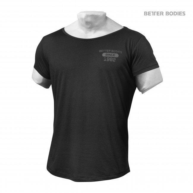 Better Bodies Tribeca tee - black