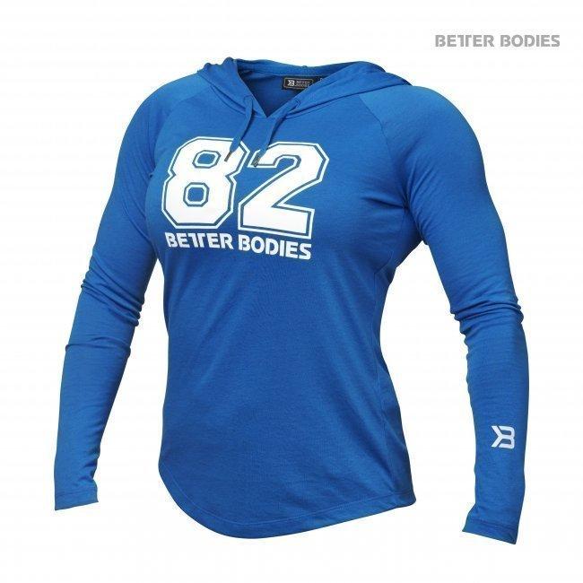 Better Bodies Varsity Hoodie blue