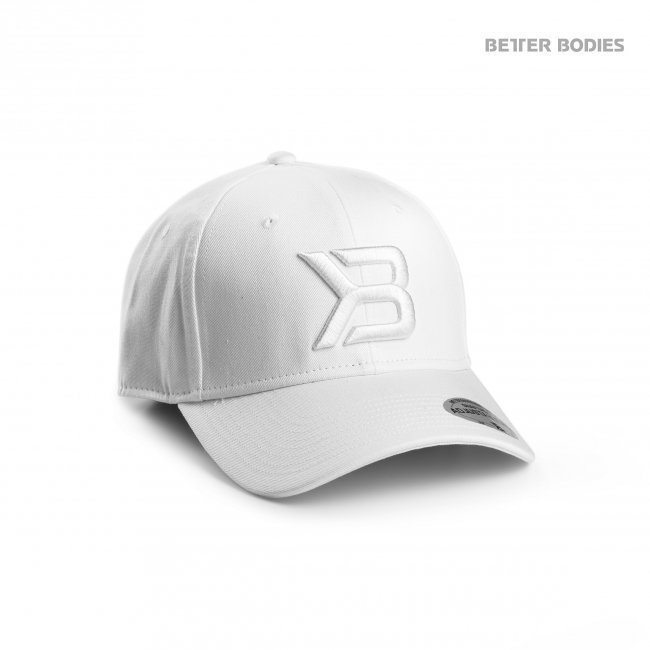 Better Bodies Womens Baseball Cap White