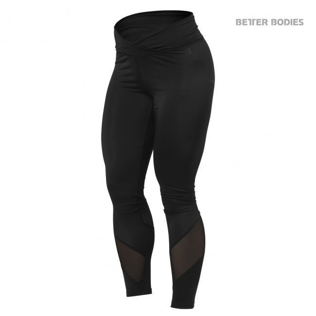 Better Bodies Wrap Tights black