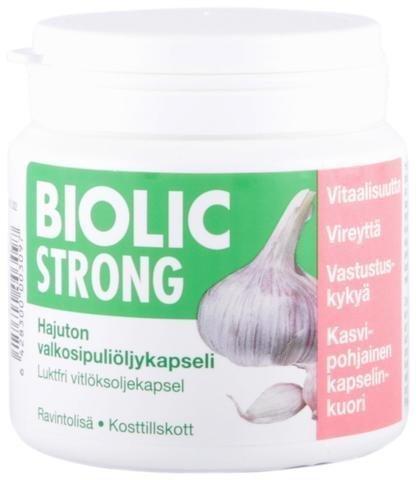 Biolic Strong Valkosipulikapselit