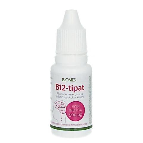Biomed Aktiiviset B12-Tipat