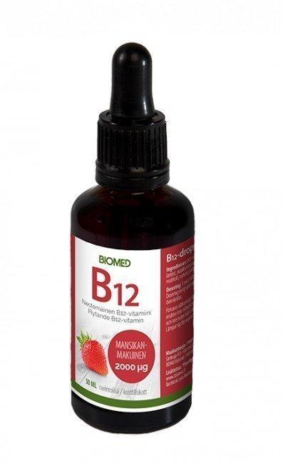 Biomed B12 -tipat