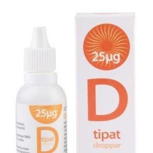 Biomed Lisäaineettomat D-Vitamiinitipat